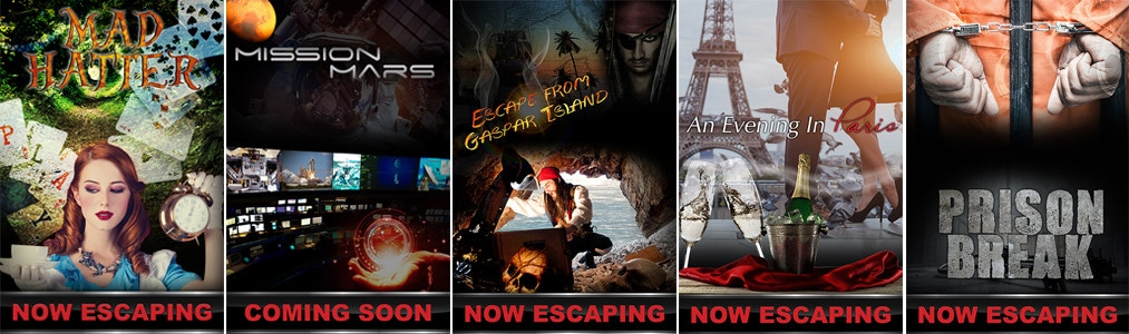 Movie Posters for Escape Countdown